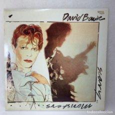 Discos de vinilo: LP - VINILO DAVID BOWIE - SCARY MONSTERS + ENCARTE - ESPAÑA - AÑO 1980. Lote 286060813