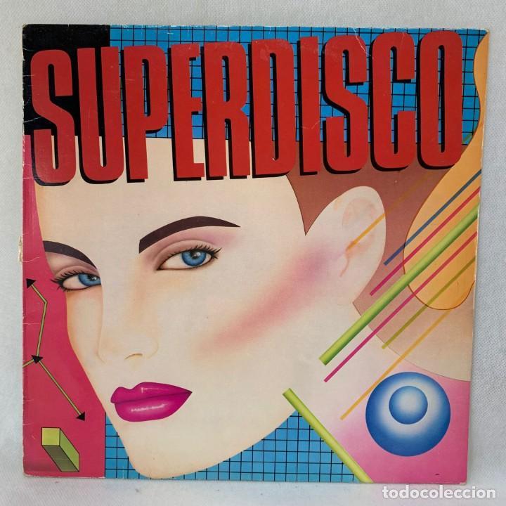 LP - VINILO SUPERDISCO III - ESPAÑA - AÑO 1984 (Música - Discos - LP Vinilo - Disco y Dance)