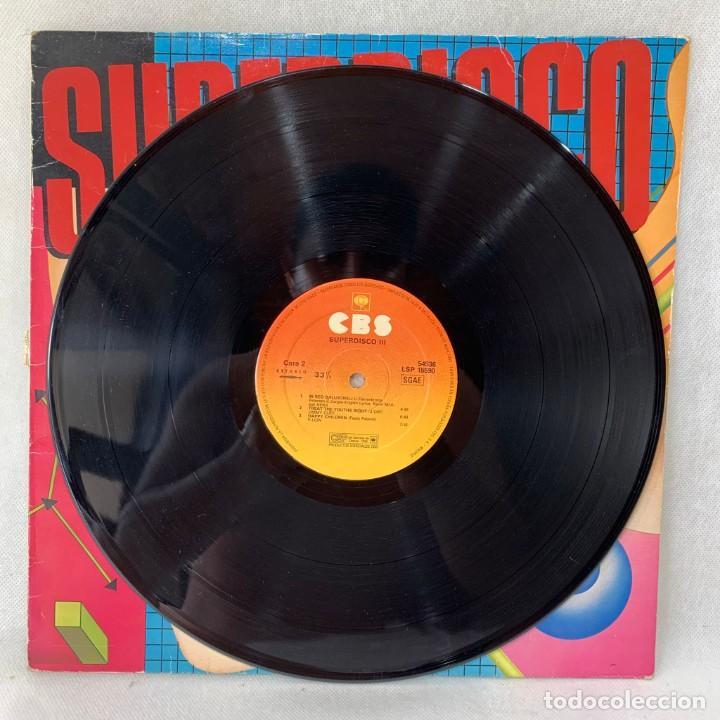 Discos de vinilo: LP - VINILO SUPERDISCO III - ESPAÑA - AÑO 1984 - Foto 2 - 286142498
