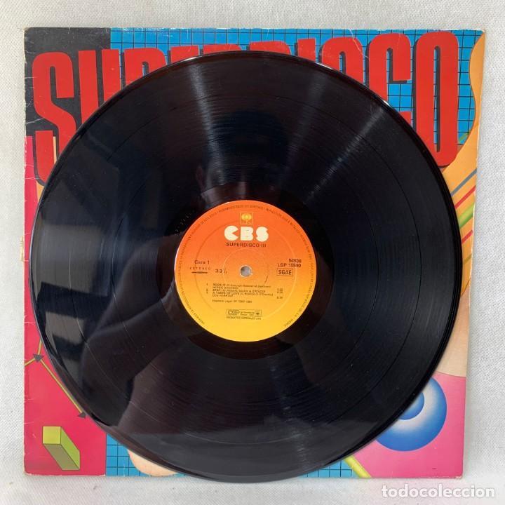 Discos de vinilo: LP - VINILO SUPERDISCO III - ESPAÑA - AÑO 1984 - Foto 3 - 286142498