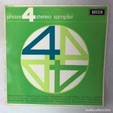 Discos de vinilo: LP - VINILO PHASE 4 STEREO SAMPLER / ESTEREOFONÍA EN 4 FASES - ESPAÑA - AÑO 1964. Lote 286143023