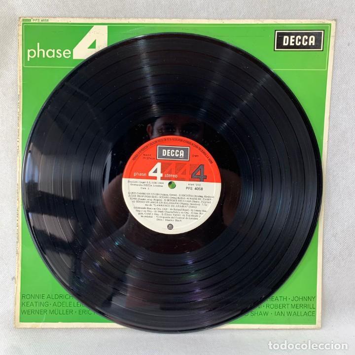 Discos de vinilo: LP - VINILO PHASE 4 STEREO SAMPLER / ESTEREOFONÍA EN 4 FASES - ESPAÑA - AÑO 1964 - Foto 2 - 286143023