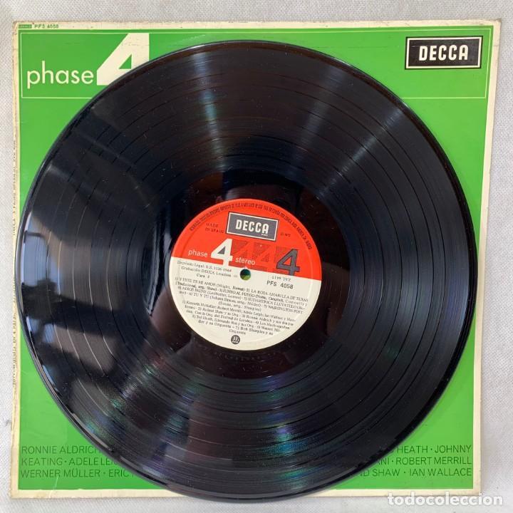 Discos de vinilo: LP - VINILO PHASE 4 STEREO SAMPLER / ESTEREOFONÍA EN 4 FASES - ESPAÑA - AÑO 1964 - Foto 3 - 286143023
