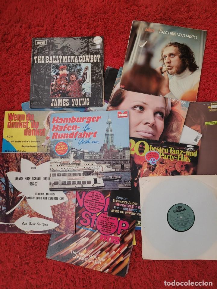 LOTE DE DISCOS DE VINILO D20, VARIOS GÉNEROS DE MÚSICA (Música - Discos - Singles Vinilo - Cantautores Internacionales)