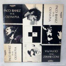 Discos de vinilo: LP PACO IBAÑEZ - PACO IBAÑEZ EN EL OLYMPIA - DOBLE PORTADA - DOBLE LP + ENCART - ESPAÑA - AÑO 1972. Lote 286159798