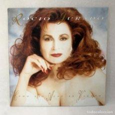 Disques de vinyle: LP - VINILO ROCIO JURADO - COMO LAS ALAS AL VIENTO + ENCARTE - ESPAÑA - AÑO 1993. Lote 286167623