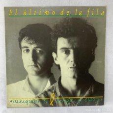 Disques de vinyle: LP - VINILO EL ÚLTIMO DE LA FILA - COMO LA CABEZA AL SOMBRERO + ENCARTE - ESPAÑA - AÑO 1988. Lote 286168158