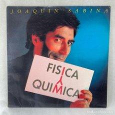 Disques de vinyle: LP - VINILO JOAQUIN SABINA - FISICA Y QUIMICA + ENCARTE - ESPAÑA - AÑO 1992. Lote 286169763