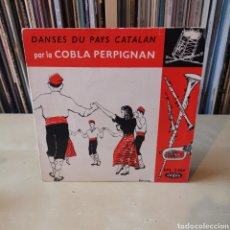 Discos de vinilo: COBLA PERPIGNAN - EP - DANSES DU PAYA CATALAN 60'S. Lote 286171103