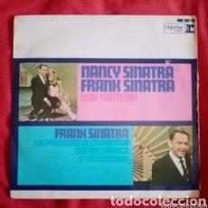 """Discos de vinilo: 1967 ANTIGUO VINILO 7"""" 45 RPM EP, FRANK SINATRA, NANCY SINATRA. UNA TONTERÍA, DOCTOR ZHIVAGO.... Lote 286174268"""
