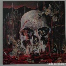 Discos de vinilo: SLAYER – SOUTH OF HEAVEN - LP, ALBUM, UNOFFICIAL RELEASE REEDICION. Lote 286176353