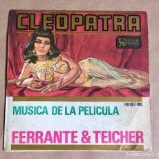 Dischi in vinile: CLEOPATRA BSO FILM ELISABETH TAYLOR (1963). Lote 286185063