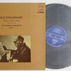 Discos de vinilo: RACHMANINOFF TRECE PRELUDIOS · OP. 23 Y 32 SVYATOSLAV RICHTER -PIANO. Lote 286198313