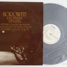 Discos de vinilo: HOROWITZ CONCIERTOS: SCHUMANN/SCRIABIN VLADIMIR HOROWITZ PIANO.RCA. Lote 286198928