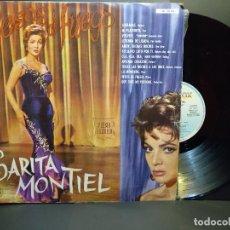 Discos de vinilo: SARITA MONTIEL SARA - BESOS DE FUEGO (LP HISPAVOX SPAIN 1959 / 1985 ) PEPETO. Lote 286199713