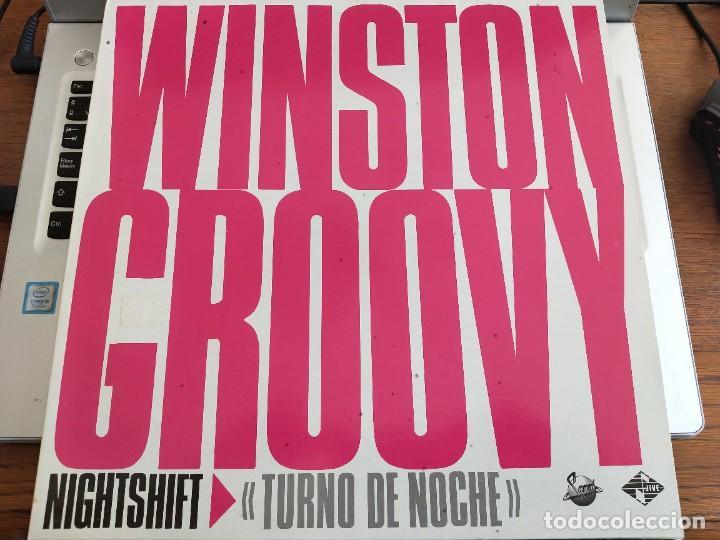 "WINSTON GROOVY – NIGHT SHIFT / TURNO DE NOCHE. JIVE – JIVE T 93. 12"". MAXI. NUEVO. MINT/ NEAR MINT (Música - Discos de Vinilo - Maxi Singles - Reggae - Ska)"