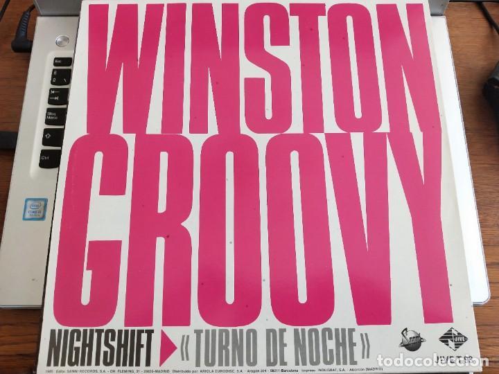 "Discos de vinilo: Winston Groovy – Night Shift / Turno De Noche. Jive – JIVE T 93. 12"". MAXI. NUEVO. MINT/ NEAR MINT - Foto 2 - 286202368"