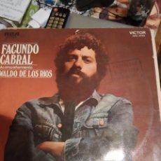 Discos de vinilo: FACUNDO CABRAL. IMPORTADO DE ARGENTINA.. Lote 286208543