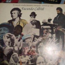 Discos de vinilo: FACUNDO CABRAL. EL MUNDO ESTABA BASTANTE TRANQUILO CUANDO YO NACÍ. IMPORTADO DE ARGENTINA.. Lote 286209263
