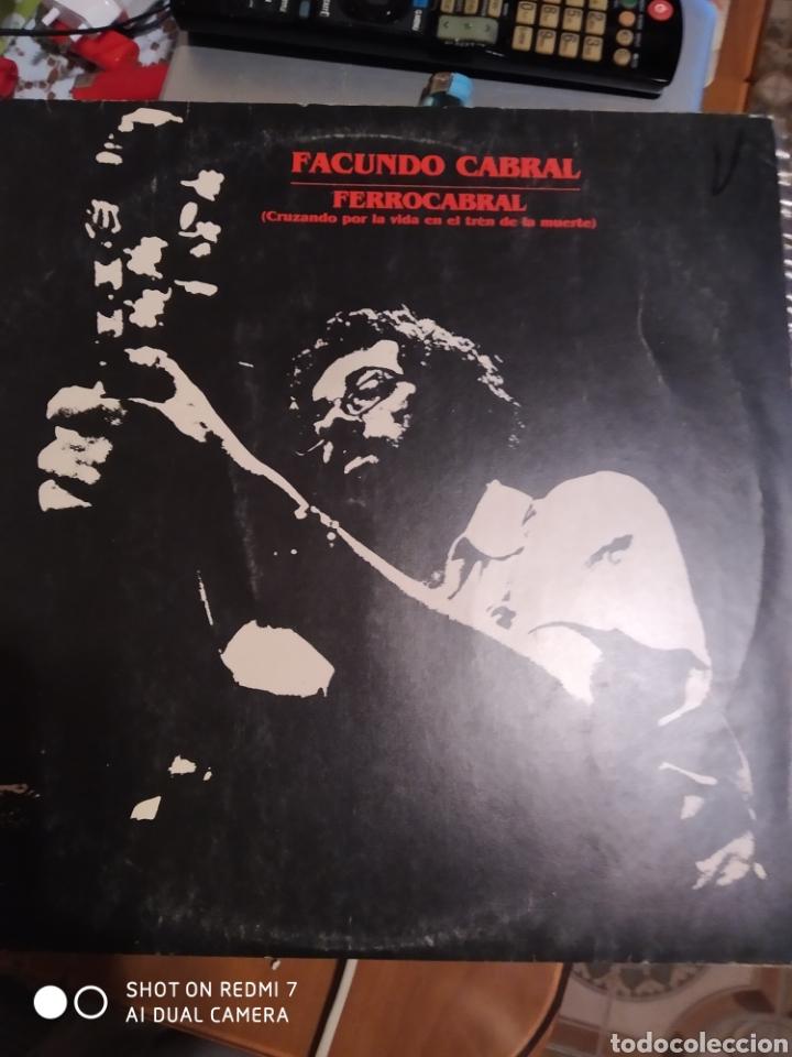 FACUNDO CABRAL. FERROCARRIL. (Música - Discos - LP Vinilo - Cantautores Internacionales)