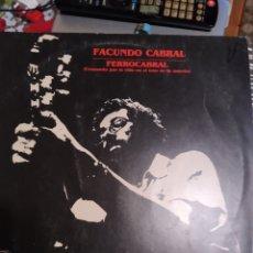 Discos de vinilo: FACUNDO CABRAL. FERROCARRIL.. Lote 286209508