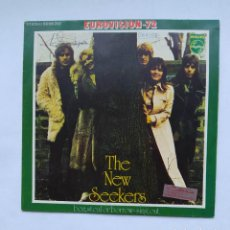 Discos de vinilo: THE NEW SEEKERS. BEG, STEAL OR BORROW / SING OUT. SINGLE. EUROVISION 72. TDKDS18. Lote 286226153