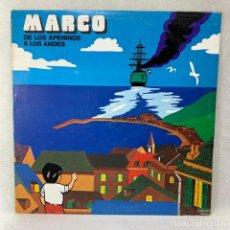 Discos de vinilo: LP - VINILO MARCO DE LOS APENINOS A LOS ANDES - ESPAÑA - AÑO 1977. Lote 286240158