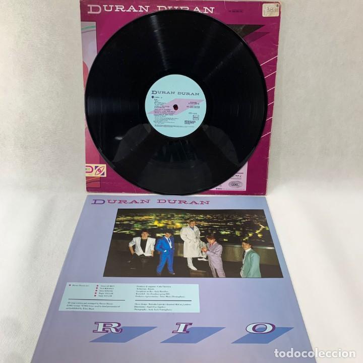 Discos de vinilo: LP - VINILO DURAN DURAN - RIO + ENCARTE - ESPAÑA - AÑO 1982 - Foto 2 - 286243488