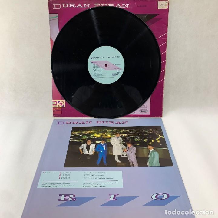 Discos de vinilo: LP - VINILO DURAN DURAN - RIO + ENCARTE - ESPAÑA - AÑO 1982 - Foto 3 - 286243488