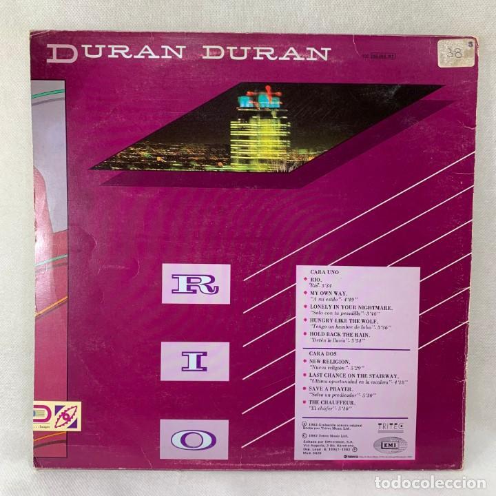 Discos de vinilo: LP - VINILO DURAN DURAN - RIO + ENCARTE - ESPAÑA - AÑO 1982 - Foto 4 - 286243488