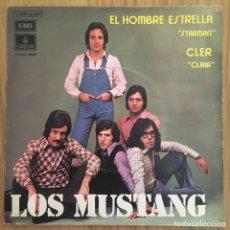 Discos de vinilo: LOS MUSTANG EL HOMBRE ESTRELLA ( DAVID BOWIE STARMAN) EXCELENTE. Lote 286259723
