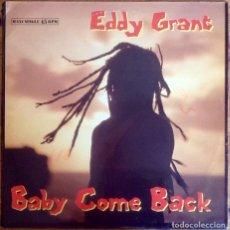 "Discos de vinilo: EDDY GRANT : BABY COME BACK [ESP 1989] 12"". Lote 286293298"