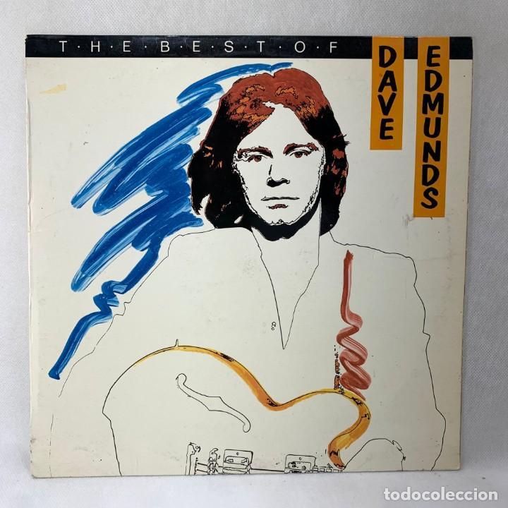 LP - VINILO DAVE EDMUNDS - THE BEST OF DAVE EDMUNDS - ESPAÑA - AÑO 1982 (Música - Discos - LP Vinilo - Pop - Rock - New Wave Internacional de los 80)
