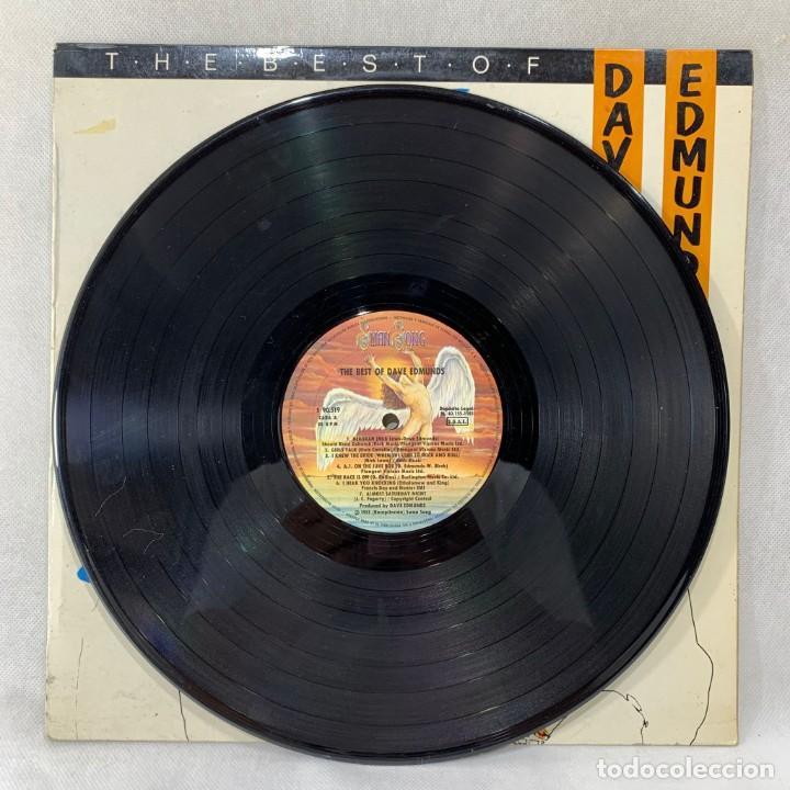 Discos de vinilo: LP - VINILO DAVE EDMUNDS - THE BEST OF DAVE EDMUNDS - ESPAÑA - AÑO 1982 - Foto 2 - 286336343