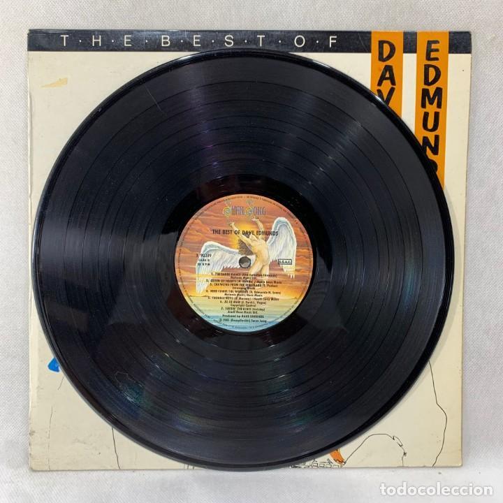Discos de vinilo: LP - VINILO DAVE EDMUNDS - THE BEST OF DAVE EDMUNDS - ESPAÑA - AÑO 1982 - Foto 3 - 286336343