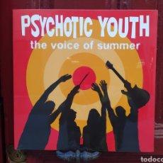 Discos de vinilo: PSYCHOTIC YOUTH–THE VOICE OF SUMMER. LP VINILO NUEVO PRECINTADO. Lote 286342878