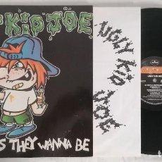 Discos de vinilo: DISCO VINILO UGLY KID JOE AS UGLY AS THEY WANNA BE (HEAVY METAL) MAXI SINGLE 1991. Lote 286359988