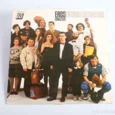 Discos de vinilo: EROS RAMAZZOTTI LP. EN TODOS LOS SENTIDOS. HISPAVOX, 1990. Lote 286379088