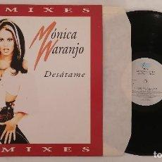 Discos de vinilo: DISCO VINILO MÓNICA NARANJO DESÁTAME MAXI SINGLE 1997. Lote 286379748