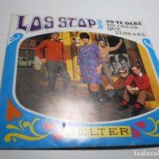 Discos de vinilo: SINGLE LOS STOP. YO TE DARÉ. NO CREAS QUE LLORARÉ. BELTER 1968 SPAIN (PROBADO, BIEN, SEMINUEVO LEER). Lote 286395473