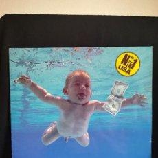 Disques de vinyle: LP NIRVANA - NEVERMIND 1991 ESPAÑA, CON INSERT DE LETRAS,. Lote 286403933