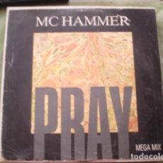 Discos de vinilo: MC HAMMER PRAY. Lote 286413098