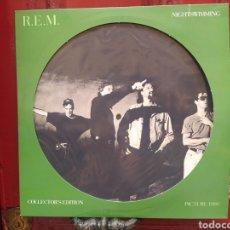 Discos de vinilo: R.E.M.–NIGHTSWIMMING. VINILO PICTURE DISC. NUEVO.. Lote 286420473