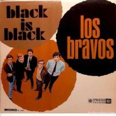 Disques de vinyle: LOS BRAVOS – BLACK IS BLACK. Lote 286440668