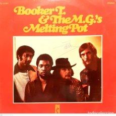 Disques de vinyle: BOOKER T. & THE M.G.'S* – MELTING POT. Lote 286442403