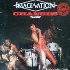 Discos de vinilo: IMAGINATION - CHANGES - MAXI SINGLE #. Lote 286454588