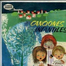 Discos de vinilo: CANCIONES INFANTILES / EL PERRO DEL HERRERO + 9 (EP DISCOPHON 1961). Lote 286505273