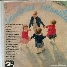 Discos de vinilo: CANCIONES INFANTILES (VARIAS) EP BARCLAY 1964) CONSERVA EL TRIANGULO. Lote 286507123