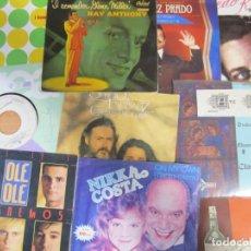 Disques de vinyle: LOTE 10 SINGLES VINILO VARIOS. Lote 286512283