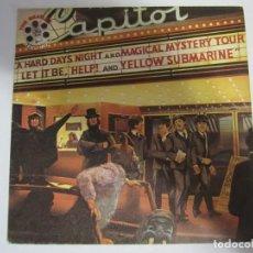 Disques de vinyle: VINILO SINGLE THE BEATLES MOVIE MEDLEY GEORGE MARTIN. Lote 286518323